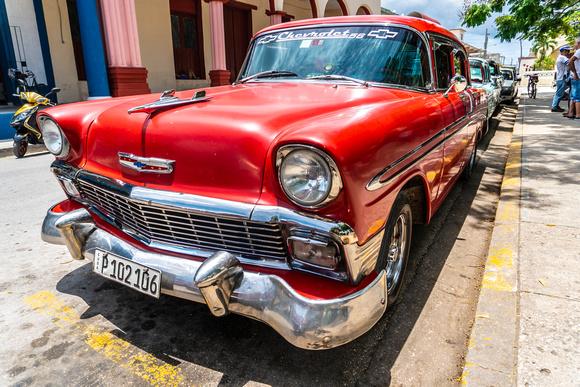 1950s Chevrolet in Cuba.